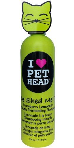 Pet Head 0850629004848 - Gato de shed me shampoo (ch. Gatos) 354 ml