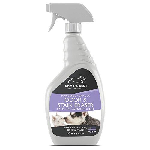 GROSSER 946ml Premium Haustier Geruchsneutralisierer & Urin Entferner - Geruchsentferner, Fleckenentferner Gegen Hartnäckige Flecken & Starke Gerüche - Exklusive Enzym Formel Für Haustier Und Zuhause