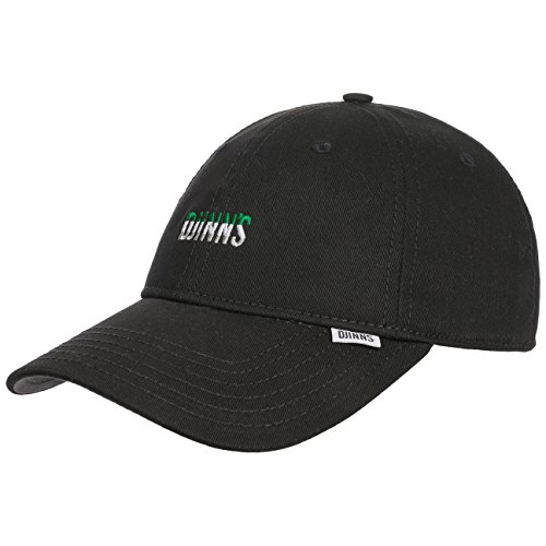 DJINNS - Flag Stripe (black) - Curved Visor Dad Cap Baseballcap Hat Kappe Mütze Caps - Visor Stripe Cap
