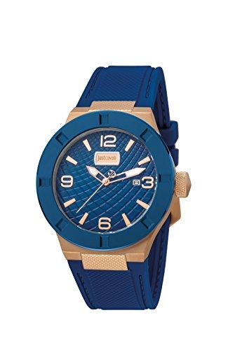 Just Cavalli Rock Montre Bleu pour Homme