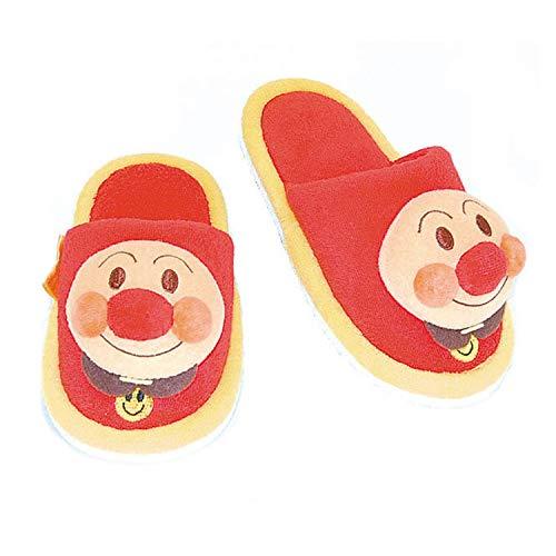 f6614c8d151d9 japanese slippers. Japon Chaussons pour enfant Chaussons Anpanman Poils  Mascot Rouge 14 ~ 16 cm 240111