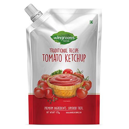 Wingreens Farms Tomato Ketchup, 450 g