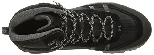 Under Armour Mens Post Canyon Mid Waterproof Black/Black/Graphite