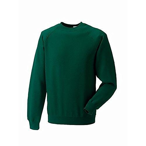 Russell Sweatshirt / Pullover Flaschengrün