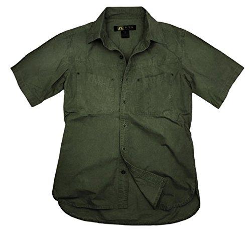 Kakadu Traders 1/2 Halb-Arm Herren Outdoor Hemd KINGSLAND Loden Grün