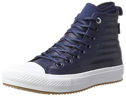 Converse Unisex-Erwachsene CTAS WP Boot Hi Midnight Navy/Wolf Grey Hohe Sneaker, Blau (Midnight Navy), 36.5 EU (Navy Schuhe Midnight)