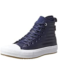 Converse Ctas WP Boot Hi Midnight Navy/Wolf Grey, Sneaker a Collo Alto Unisex – Adulto
