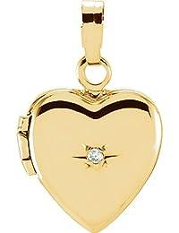 Gold Octopus Pendant 585 Hobra-Gold Mini + Brilliant - Gold Pendants - Diamond Pendant