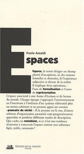Espaces N°12 par Paolo Amaldi