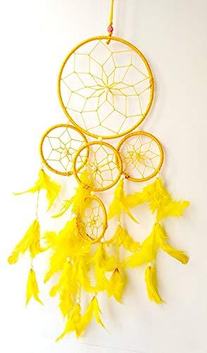 �nger, 5 Kreise, mehrfarbig, zum Aufhängen 40x15 cm gelb ()