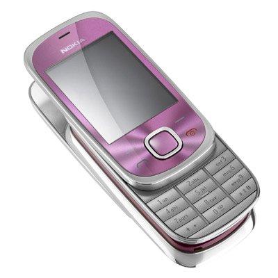Nokia 7230Rosa teléfono móvil en Vodafone PAYG
