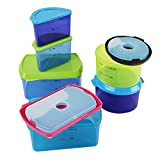 Best Lunch Box Freezer Packs - Fit & Fresh Kids' Reusable Lunch Box Container Review