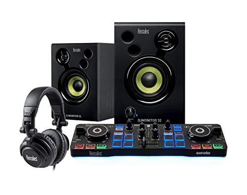 Hercules 4780890Kit Completo per débuter Djing con serato dj Lite per PC/Mac Nero/Bianco