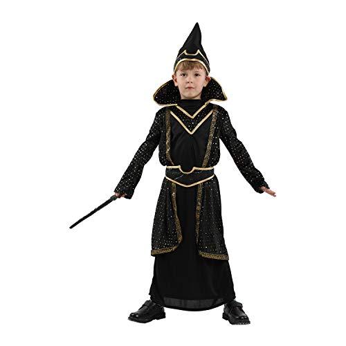 GIFT ZHIZHUXIA Magische Roben Kostüm Kostüme COS Harry Potter Kleidung Kinder Halloween Mädchen Jungen Cosplay Kleid 4-12 Jahre Weihnachtsfeier Kleid Requisiten (Farbe : Photo Color, größe : L)