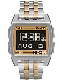 96304ad2dddc Nixon Reloj Hombre de Digital con Correa en Acero Inoxidable A1107 1431-00