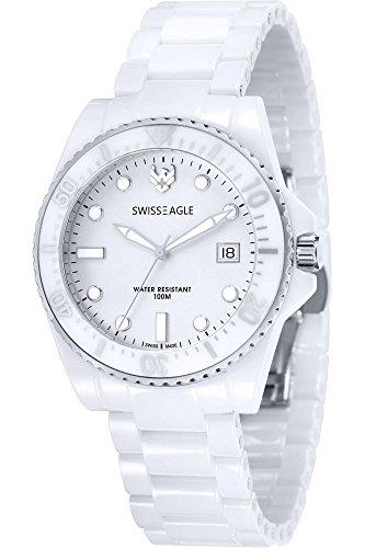 Swiss Eagle Reloj de cuarzo Man Dive 40 mm