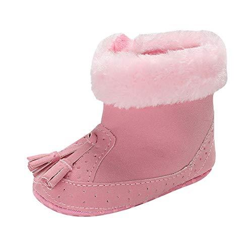 0a3bee52e5567 Chaussures de Bébé, Manadlian Enfants Bottes à Franges Bébé Fille Garçon  Garder au Chaud Doux