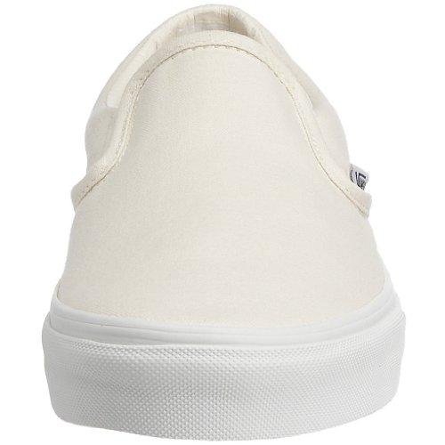 Vans U Classic Slip-on Overwashed, Unisex-Erwachsene Sneakers White