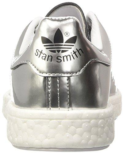 Sneaker Smith a White Footwear Silver Boost Argento adidas Basso Donna Collo Stan Metallic AwSxtf