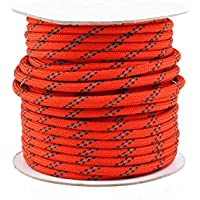 4mm x 10m Campingzelt-Markise Reflektierende Seil 10Pcs Guy Line Spanner