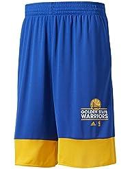 adidas B45416 Pantalón Corto Golden State Warriors de Baloncesto, Hombre, Multicolor (Nbagsw), XL
