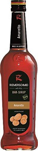 Riemerschmid Bar Sirup Amaretto 0,7l Flasche