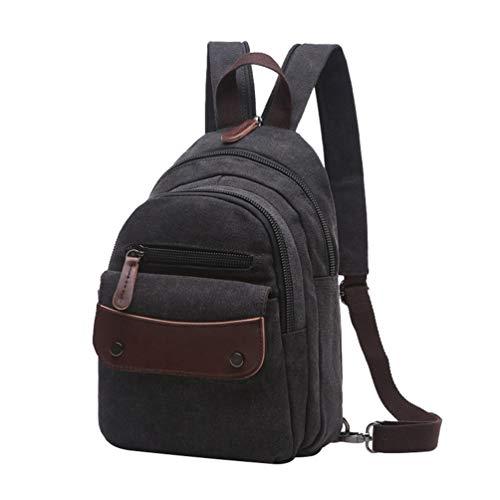 (CHENYANG Vintage Canvas Rucksack Freizeit Mode Mini Daypacks Reisetasche Mädchen Schulrucksack)