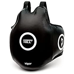 GREEN HILL PETO PARA ENTRENADOR DE BOXEO VIGOR TRAINER SHIELD PROTECTOR VENTRAL BOXING KICK BOXING