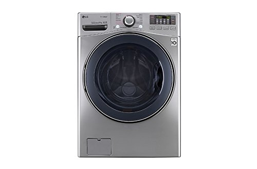 LG F1K2CS2T Independiente Carga frontal 17kg 1100RPM A++ Acero inoxidable - Lavadora...