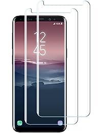 Protector de Pantalla S9, [2 Pack] Genmer Samsung Galaxy S9 Cristal Templado Protector Pantalla para Samsung S9, 9H Dureza Anti-rasguños, Libre de polvo, No Burbujas, HD Vidrio Templado Protector para Samsung Galaxy S9