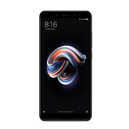 Xiaomi Redmi Note 5 (Hybrid Dual SIM) 32GB 5.99-Inch Android 7.1.2 UK Version SIM-Free Smartphone - Black (Official UK Launch)