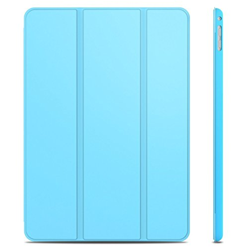 JETech 3042 Hülle für Apple iPad Air 2, Licht und Dünn Schutzhülle mit Ständer Funktion und Auto Einschlafen/Aufwachen, Blau