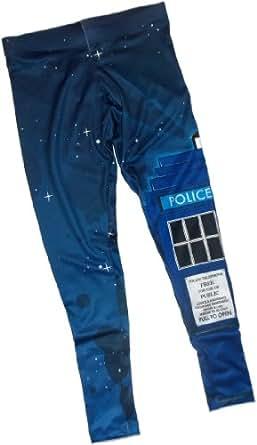 Tardis -- Doctor Who Ladies All-Over-Print Leggings, X-Large