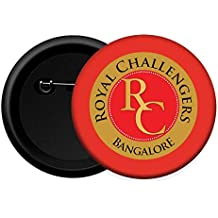 Royal challengers Bangalore RCB IPL Button Badge (Pack of 15)