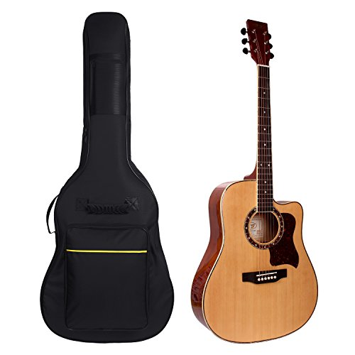 "Gitarrentasche,41"" Gitarre Taschen Gig Bag Guitar Bag Gitarrenhülle Für Akustikgitarre und Klassikgitarren"