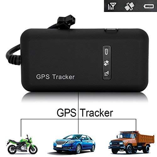 Hangang GPS Tracker Echtzeitfahrzeug Tracker für Auto, Motorrad, Fahrrad, GPS, GSM, GPRS, SMS, Diebstahlsicherung GT02A ...