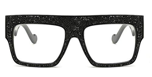 Sucatle Die neue, Qualität, große Kiste, Sonnenbrillen, kundenspezifische, Luxus, Steine, Gezeiten-kühle Sonnenbrille Sucatle
