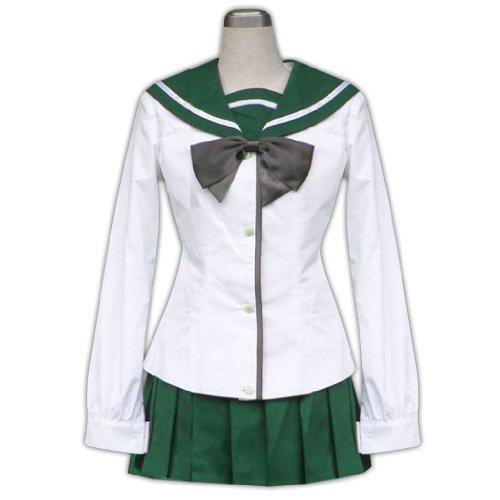Dream2Reality japanische Anime Highschool of the Dead Cosplay Kostuem - Fujimi Shobo High School Maedchen Uniform 1st Ver Large (Japanische High School Uniform Kostüm)
