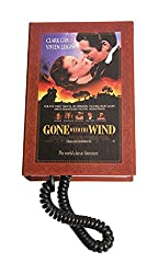 Aashrit Book Style Landline Phone (Brown)