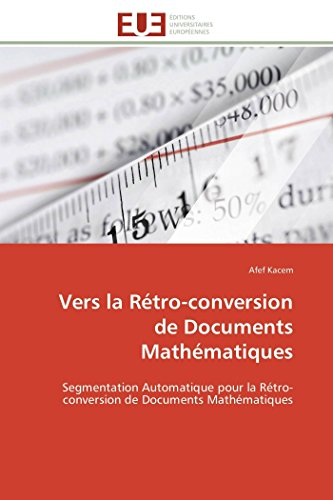 Vers la rétro-conversion de documents mathématiques