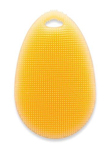 Miracle éponge en silicone et brosse à vaisselle Orange:: connu de la TV Publicité.