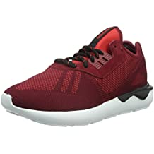 adidas Originals Tubular Runner Weave Hombres formadores Red S74812