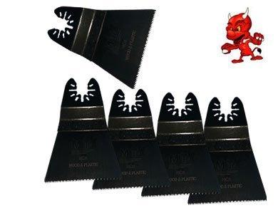 5 Stück 64 mm Japan Sägeblatt Sägeblätter Zubehör Aufsätze für Craftsman Nextec Multi Tool 5910/12V