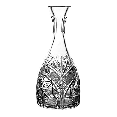 Crystaljulia Weinkaraffe, Kristall, 1000ml, 12 x 12 x 28 cm