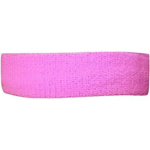 Bandeau de cheveux fluo doux Pour fille et femme - rose - Taille unique