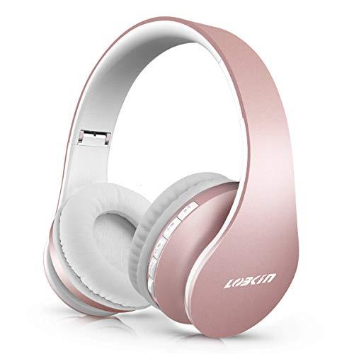 LOBKIN Auriculares Bluetooth 5.0 inalambricos Diadema