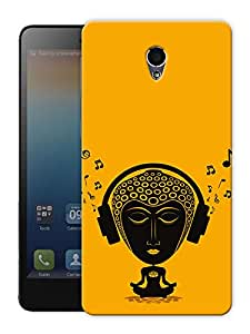 "Humor Gang Tripping Buddha - Buddhist God Printed Designer Mobile Back Cover For ""Lenovo S860"" (3D, Matte Finish, Premium Quality, Protective Snap On Slim Hard Phone Case, Multi Color)"