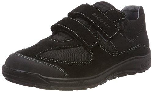 RICOSTA Jungen NINO Sneaker, (Schwarz 095), 36 EU