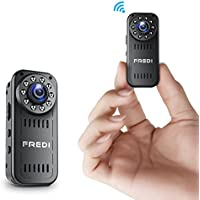 Spy Camera, FREDI HD 1080P Wireless Mini Portable Hidden Camera Indoor/Outdoor WiFi Security IP Camera with Motion Detection (Update Version)