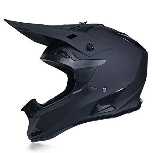YOVYO Motocross Helm Kollision Offroad Rennen Kollision Kopfschutz Vollgesichts Berg U-Bahn Rampe Rampe Motorrad MX ATV Motorradhelm Unisex DOT-Zertifizierung